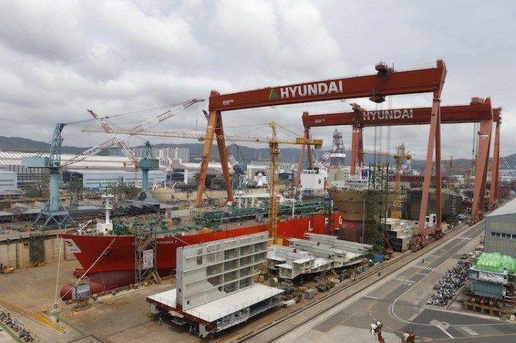 Hyundai heavy industries targets 195 billion in orders
