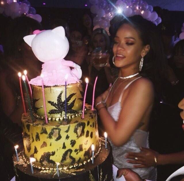 Rihanna Rang In Her 27th Birthday On Friday With A Slew Of A List