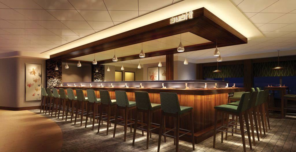 Modern sushi bar google search restaurant