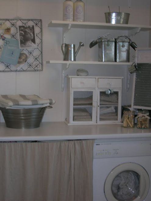 Victorias Hus Shabby Chic Kitchen Home Laundry Room
