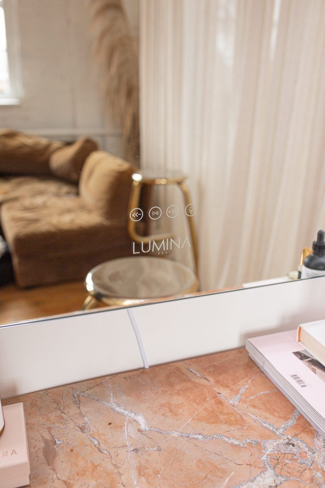 Best Hollywood vanity mirror for makeup with Bluetooth