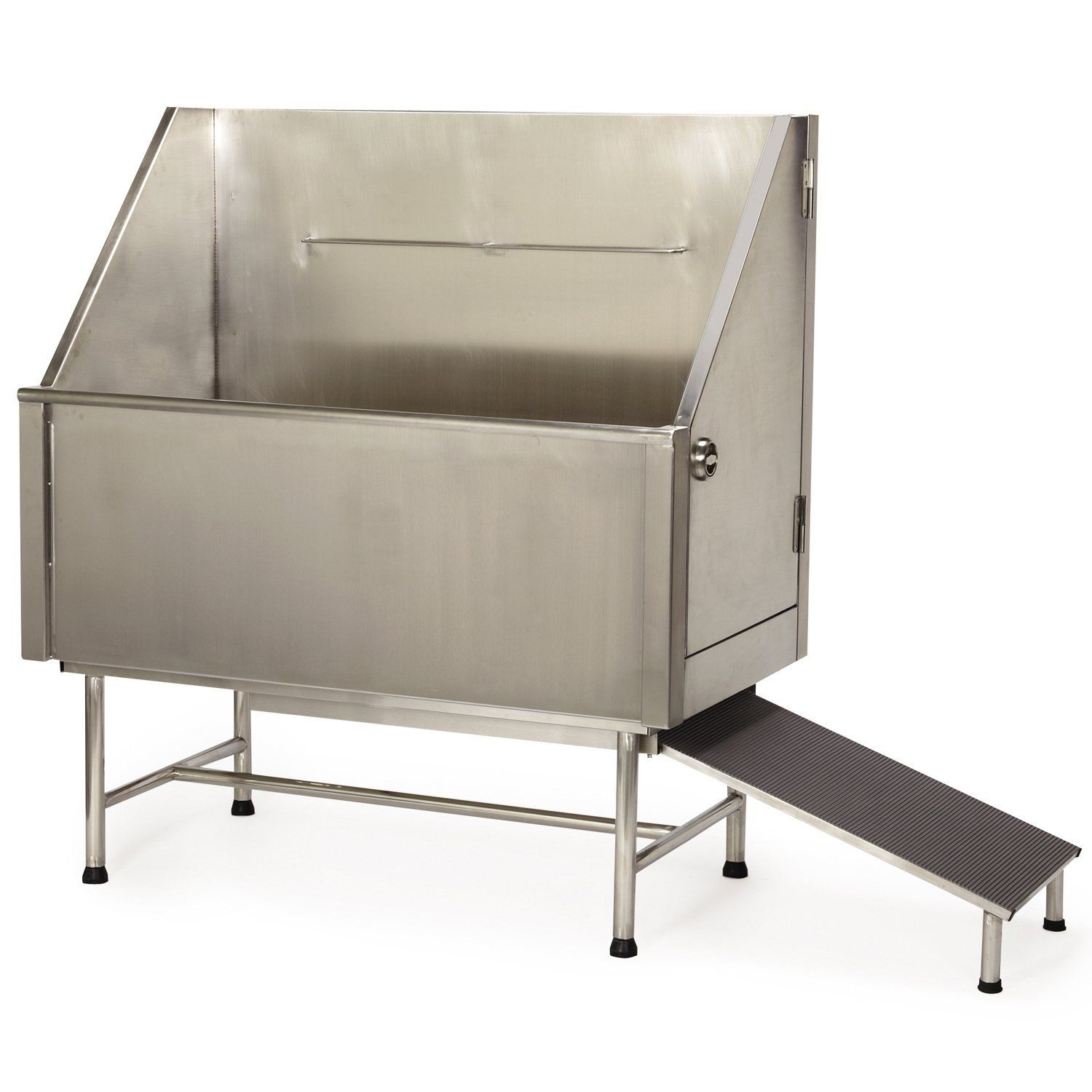 Master Equipment Superior Stainless Steel Evolve Tub Left Plumbed for Pets * Be sure to check out this awesome product. (This is an affiliate link and I receive a commission for the sales)
