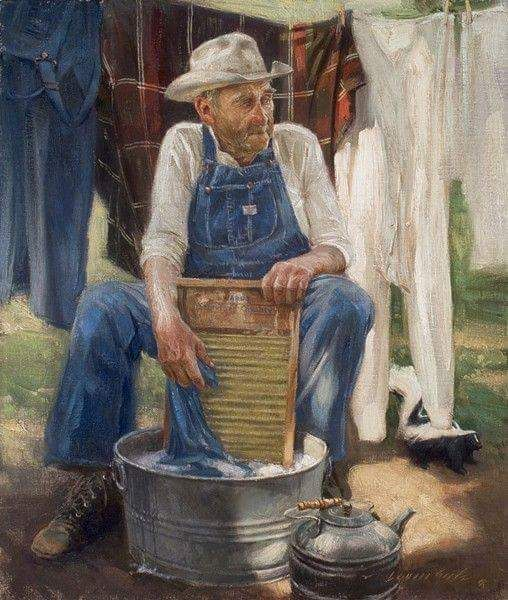 Country Living ~ Man Laundry!!