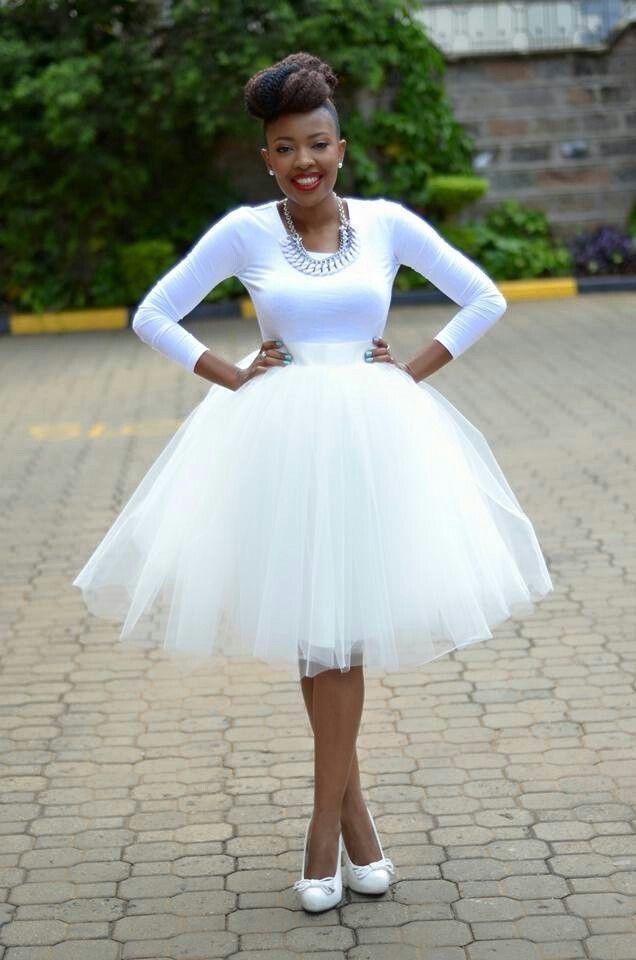 All white tulle skirt kambua kenyanfashion my dress my for White tulle wedding dress