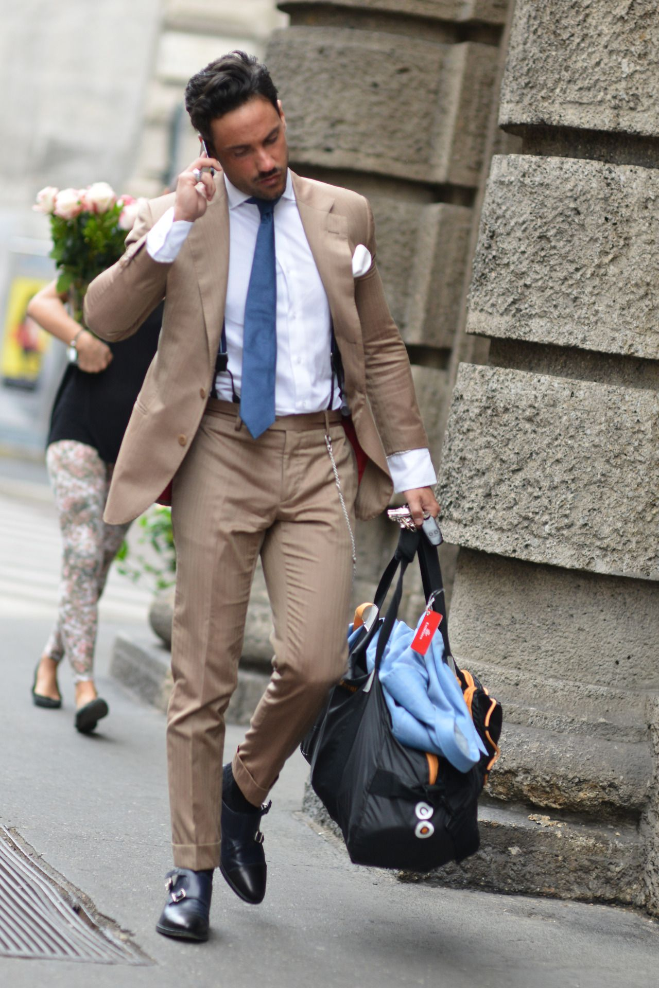 Milan streets one of my favorite shotus for british gq