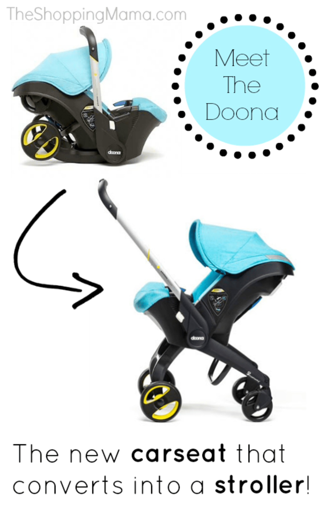 Doona Infant Carseat That Converts To A Stroller! Cool
