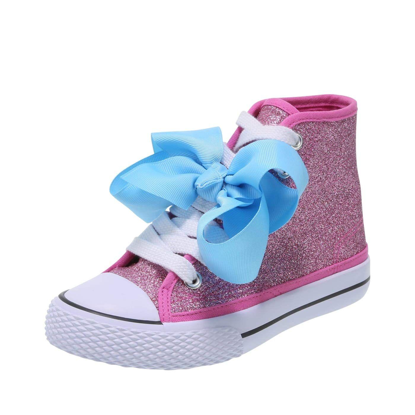 Nicklodeon Shoes JoJo Siwa Pink Glitter