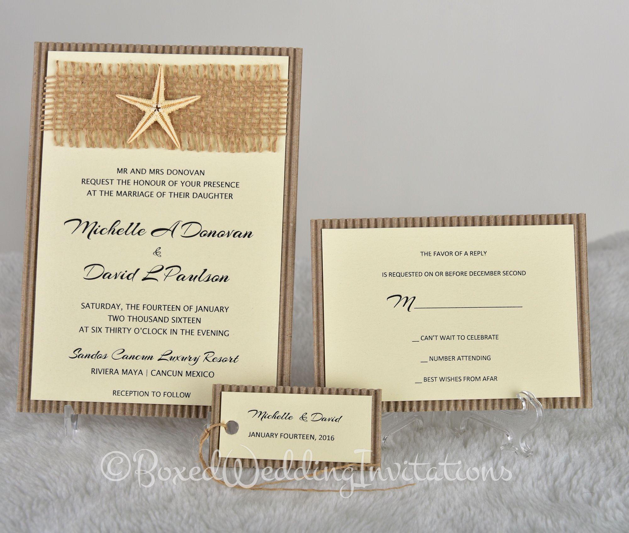 Destination wedding invitation card #wedding #invitation ...