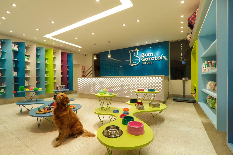 Bom Garoto Pet Shop Estudio Triciclo Pet Shop Loja De Animais Hotel De Animais
