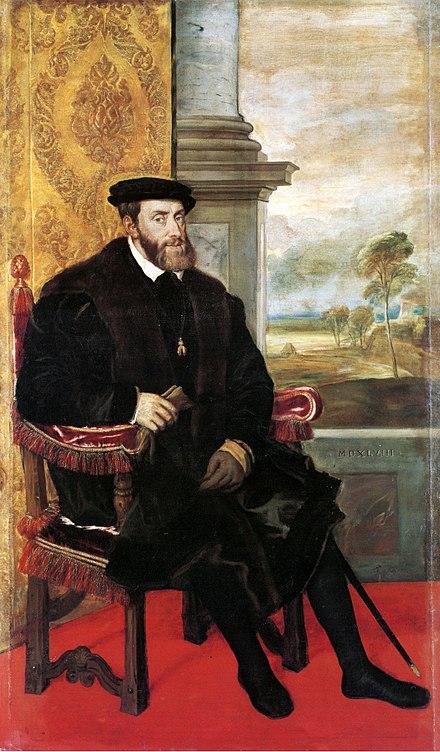Charles V Holy Roman Emperor Wikipedia In 2020 Roman Emperor European History Emperor