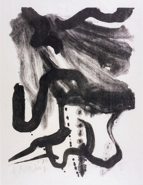 Willem de Kooning, 'Woman with Corset and Long Hair', 1971, Susan Sheehan Gallery   Artsy