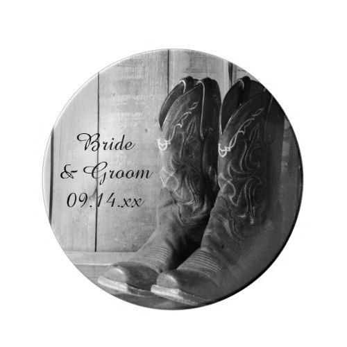 Rustic Cowboy Boots Western Wedding Keepsake Plate | Wedding .  sc 1 st  Hairstyle and Wedding dress & Western Rustic Wedding Paper Plates - Best site hairstyle and ...