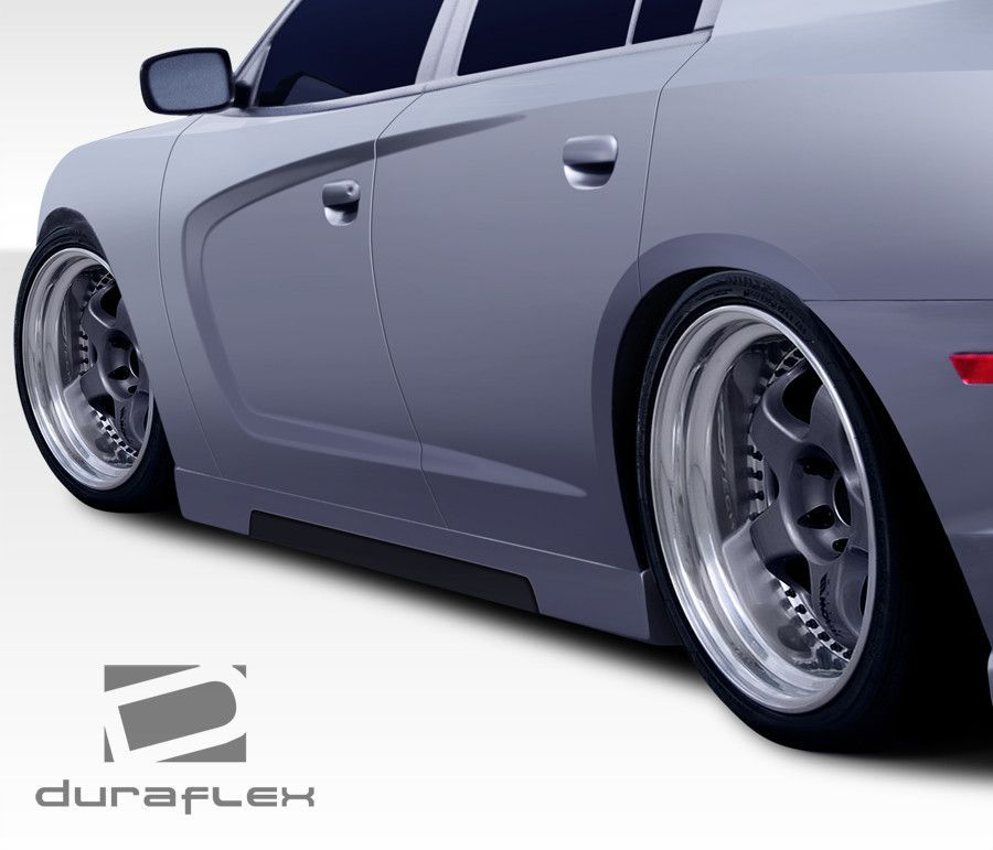 2011 2016 Dodge Charger Duraflex Circuit Side Skirts Rocker Panels 2 Piece Dodge Charger 2018 Dodge Charger Rocker