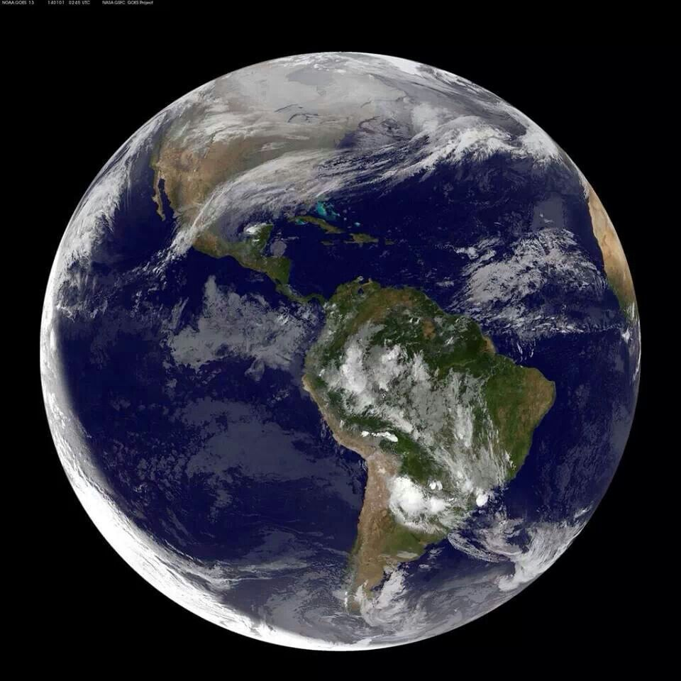 Earth Florida Places Pinterest Earth - Satellite view of earth today
