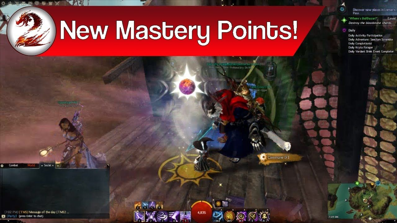Guild Wars 2 New Central Tyria Mastery Insights 9 Easy Central Tyria Guild Wars Guild Wars 2 Mastery