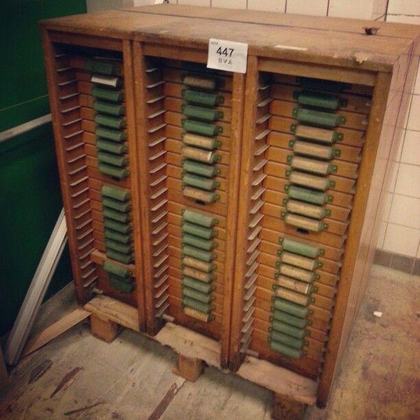 Antieke letterkast, maison caracteristique