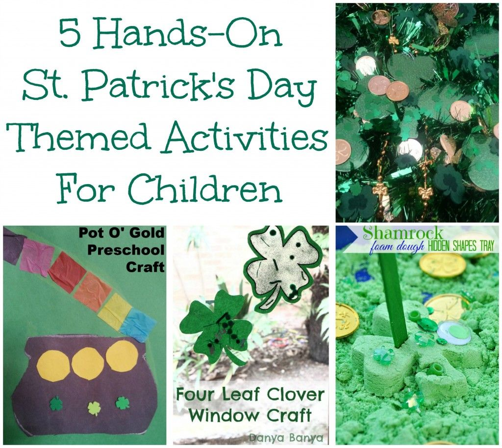 5 St. Patrick's Day Themed Activities {HOP} Daycare