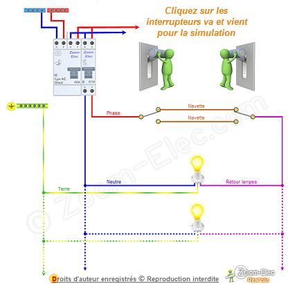 Schema Developpe D Un Va Et Vient Schema Electrique Electrique Schema