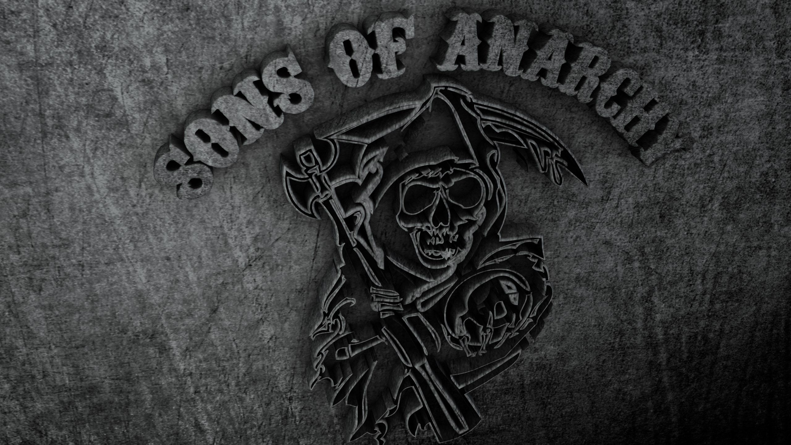 Sons Of Anarchy Monochrome Tv Series 4000x3000 Wallpaper