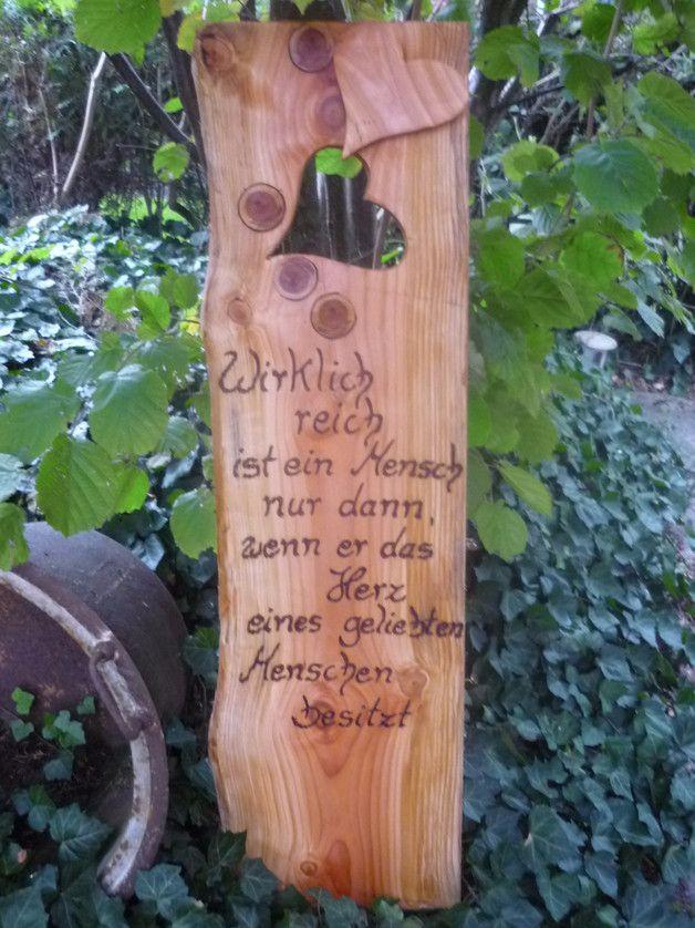Ein Sehr Schones Geschenk Zitat Passend Zur Hochzeit Holzerne