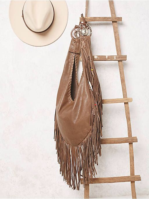 1b3cea4e2f9a Free People Willow Fringe Hobo
