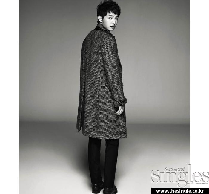 Song Joong-ki for Singles