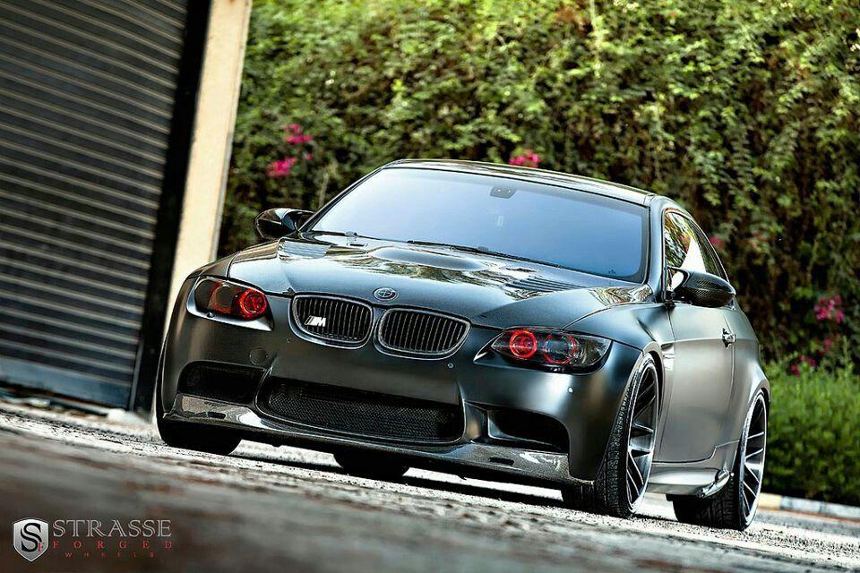 Exceptional BMW E92 M3 Matte Grey Amazing Design