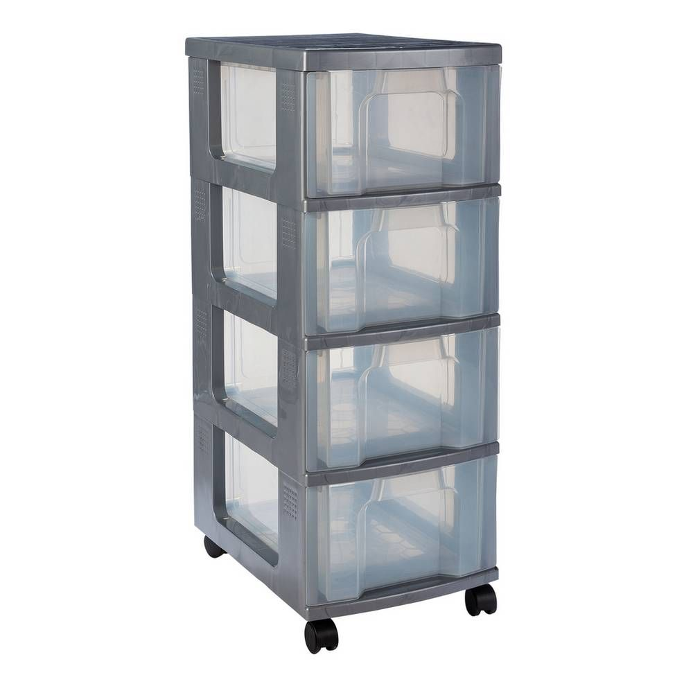 Buy really useful heavy duty 4 drawer tower plastic
