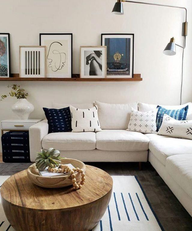 Filling a blank wall with style and intrigue is no easy ...