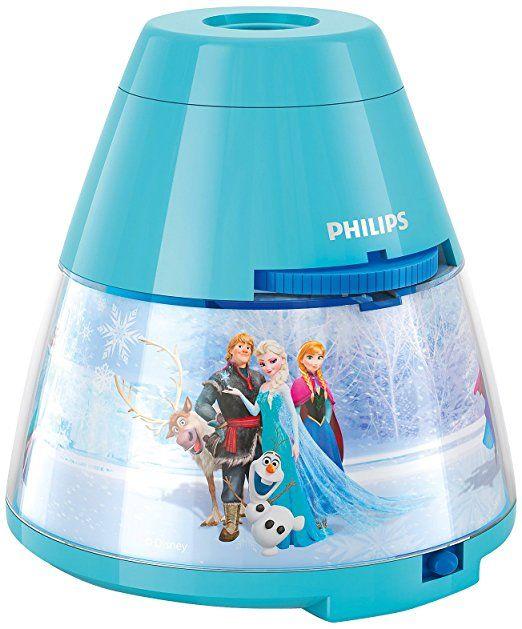 Philips e Disney Frozen Lampada da Tavolo Proiettore LED, Azzurro