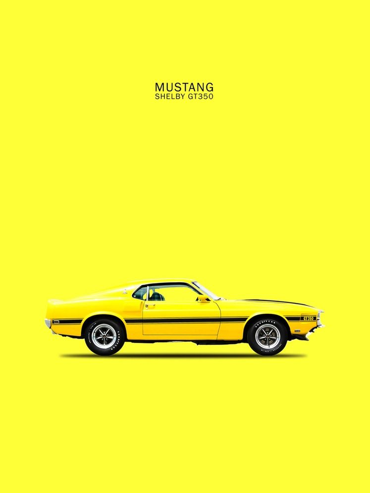 Mark Rogan Automotive Prints Art Of The Car Price Reviews Drop Mustang Shelby Ford Mustang Shelby Mustang
