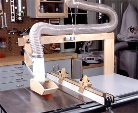 Amazing Idea Shop 2000: 2 Tablesaw Dust Collector Hood