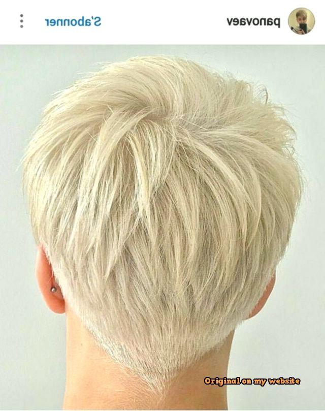 Bob Frisuren 2019 I Like This Haircut Back Short Hair