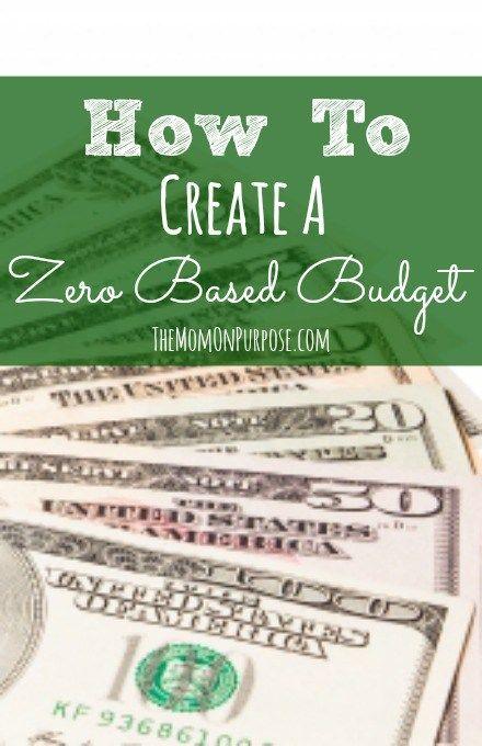 A Basic Zero-Based Budget Free printable, Budgeting and Saving money - zero based budget spreadsheet dave ramsey