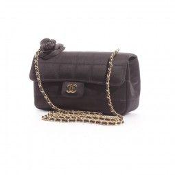 Chanel Abendtasche in Schwarz