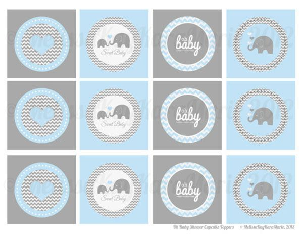 image relating to Free Printable Elephant Baby Shower identified as Impression outcome for cost-free printable elephant child shower
