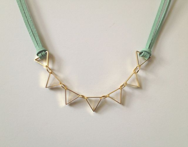 Cut Metal Necklace 08 by fabricpaperglue, via Flickr