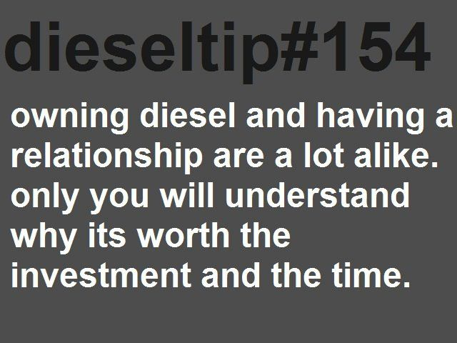 Owning A Diesel And Having A Relationship Are A Lot Alike