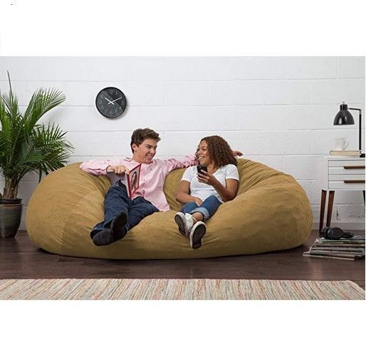 Magnificent Details About Bean Bag Chair Dorm Room Bedroom Beanbag Large Dailytribune Chair Design For Home Dailytribuneorg