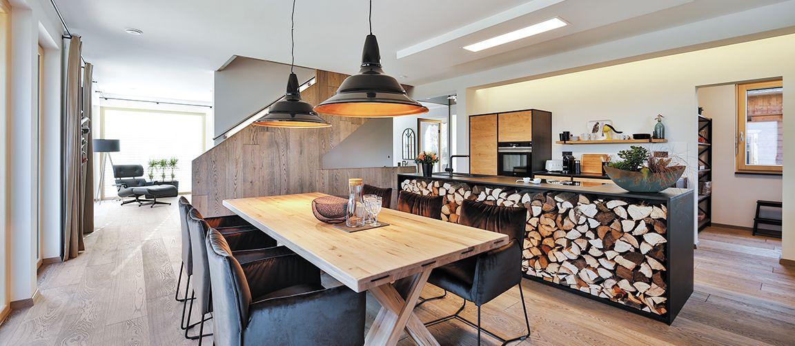 Regnauer Vitalhaus Heidi Haus und Grundriss Pinterest - küche mit kochinsel grundriss