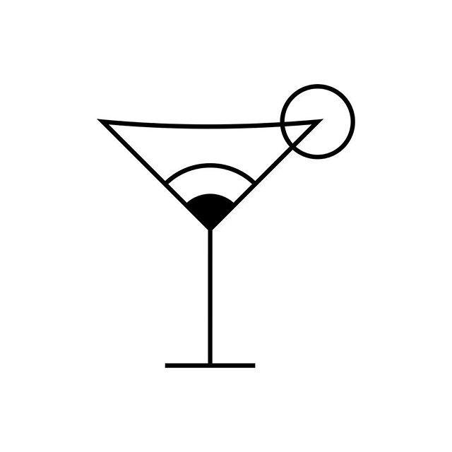 Instagram Photo By Npd Studio Apr 22 2016 At 9 13pm Utc Cocktail Illustration Cocktails Vector Drinks Logo