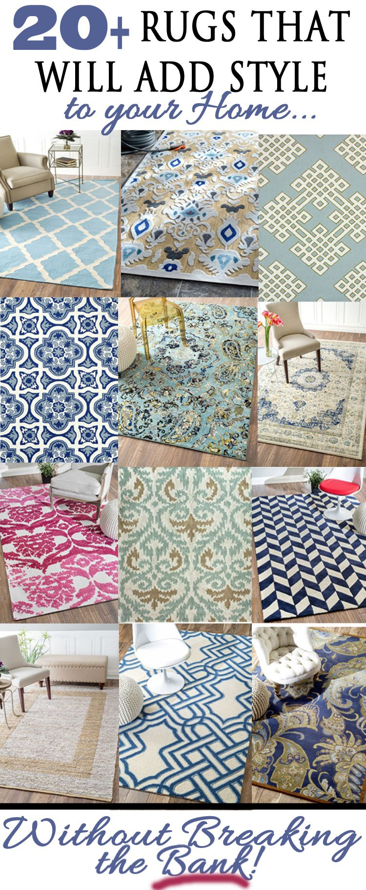 Looking for the perfect rug?  Good chance you will find it here!  Love this collection!  Picked by Provident Home Design.