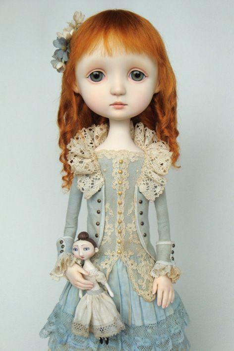 Emilia - original doll by Ana Salvador