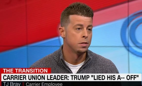 WOW! CNN Brings On Carrier Employee to Bash Trump for Saving Jobs (VIDEO)