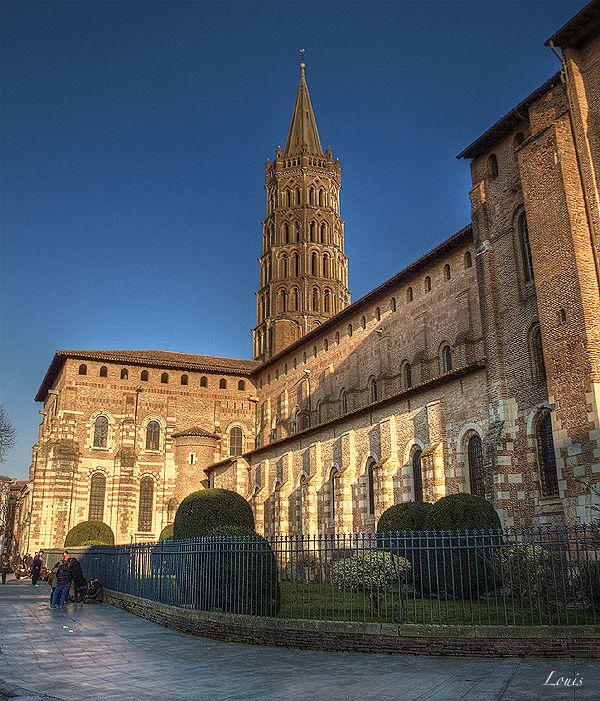 Cathedrale Saint Sernin A Toulouse Saint Sernin Basilique Toulouse