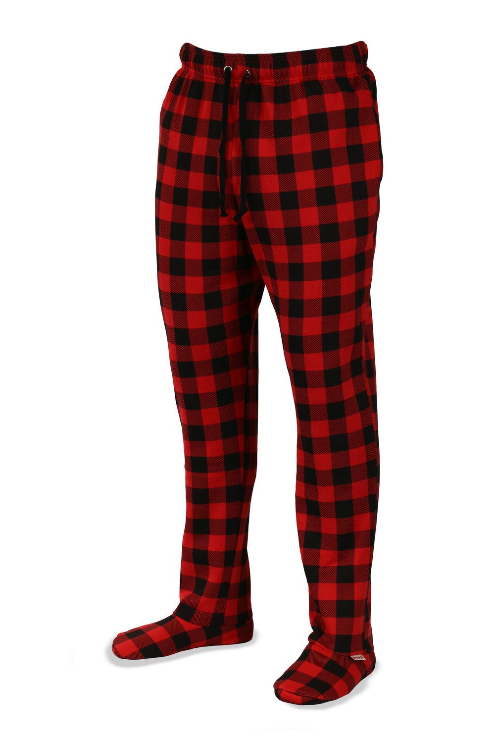 Sweatpants With Feet Lumberjack Feejays Materials 80 Cotton 20 Polyester Details Draw String Waist Band Cozy Hand Pockets Ultra Plush Sherpa Lined
