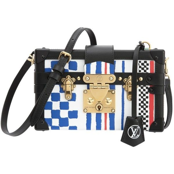 Pre-owned Louis Vuitton Handbag (160,735 THB) ❤ liked on Polyvore featuring bags, handbags, preowned handbags, hand bags, louis vuitton bags, handbags bags and man bag