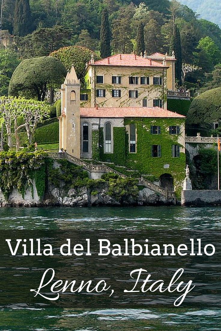 Villa del Balbianello Lenno, Italy (With images) Italy