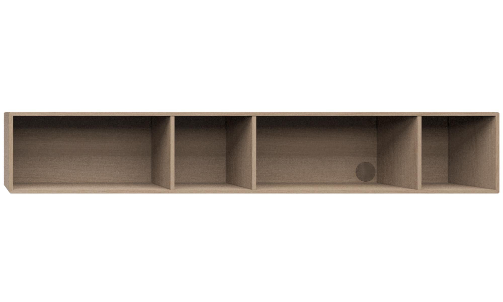 Regale und Bücherschränke - Como Regal - Braun - Eiche | sofa ...