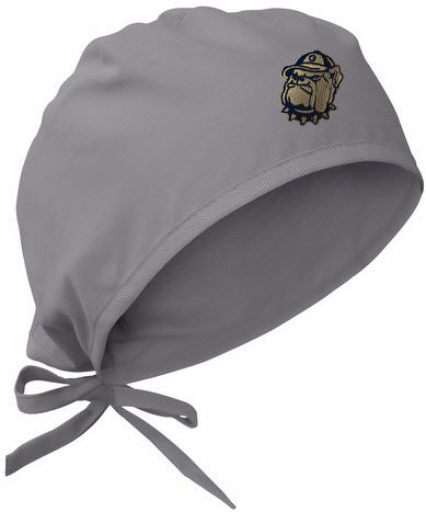 innovative design c5a4f 1cd04 ... coupon code georgetown gray scrub cap fe50c b52d4